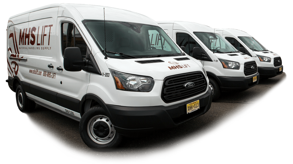 MHS Lift delivery vans