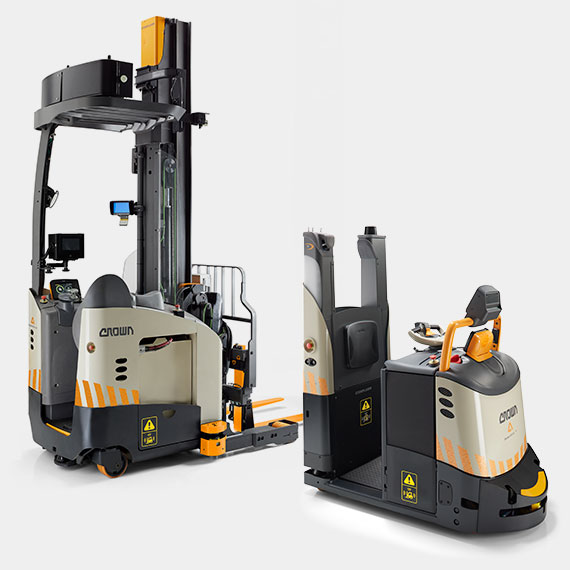 Dualmode Automated forklifts